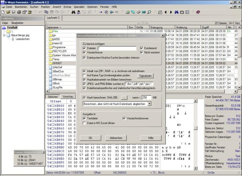 handy forensik software